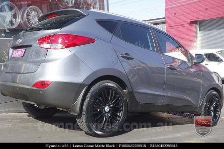 18x8.0 Lenso Como - MB on HYUNDAI IX35