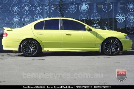 19x8.5 Lenso Type-M DG on FORD FALCON