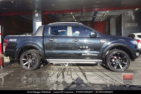 22x9.5 Lenso RT-Concave on FORD RANGER WILDTRAK