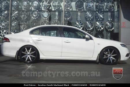 18x8.0 Incubus Zenith - MB on FORD FALCON