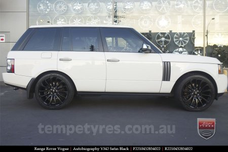 22x10 Autobiography Y342 SB on RANGE ROVER VOGUE