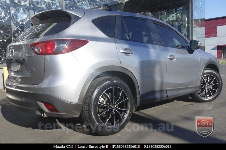 18x8.0 Lenso Eurostyle E ESE on MAZDA CX5