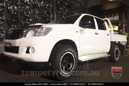 17x9.0 Lenso Max1 MBD on TOYOTA HILUX