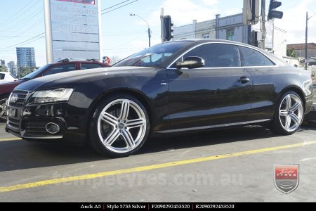 20x9.0 Style5733 on AUDI A5