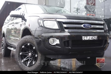 17x9.0 Ballistic Jester on FORD RANGER