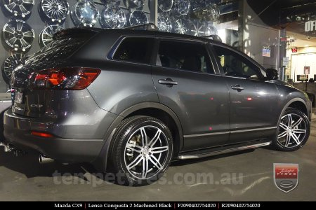 20x8.0 20x9.0 Lenso Conquista 2 CQ2 on MAZDA CX9