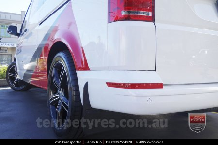 20x8.5 Lenso Rio on VW TRANSPORTER