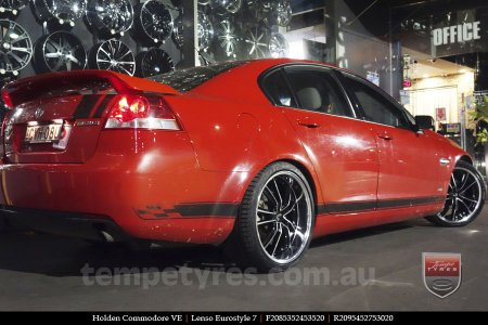 20x8.5 20x9.5 Lenso Eurostyle 7 ES7 on HOLDEN COMMODORE VE