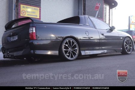 18x8.0 Lenso Eurostyle E ESE on HOLDEN VY COMMODORE
