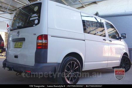 17x7.5 Lenso Eurostyle E ESE on VW TRANSPORTER