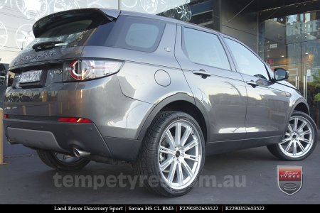 on LAND ROVER DISCOVERY SPORT