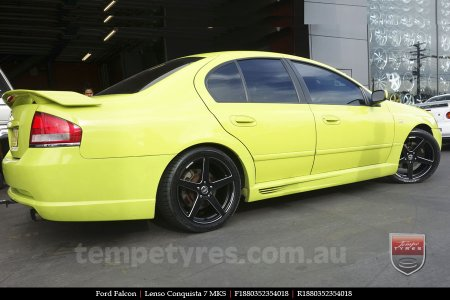 18x8.0 18x9.0 Lenso Conquista 7 MKS CQ7 on FORD FALCON