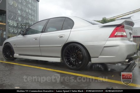 19x8.5 19x9.5 Lenso Speed 2 SP2 on HOLDEN VY COMMODORE