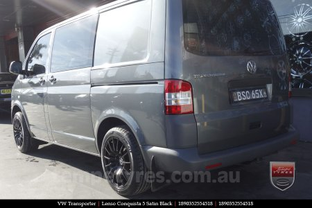 18x8.0 18x9.0 Lenso Conquista 5 SB CQ5 on VW TRANSPORTER