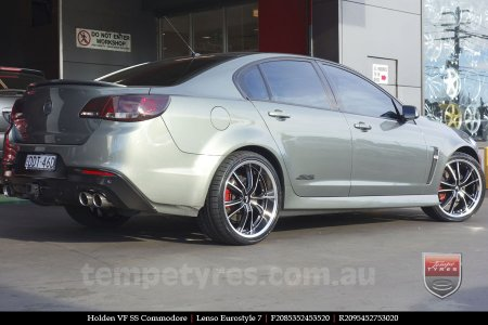 20x8.5 20x9.5 Lenso Eurostyle 7 ES7 on HOLDEN VF COMMODORE