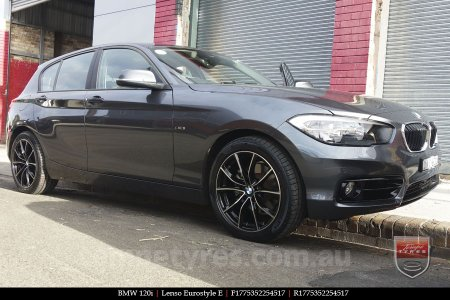 17x7.5 Lenso Eurostyle E ESE on BMW 120i