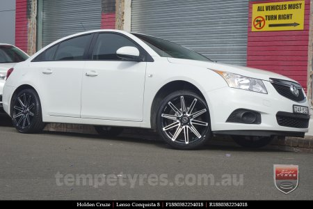 18x8.0 18x9.0 Lenso Conquista 8 CQ8 on HOLDEN CRUZE