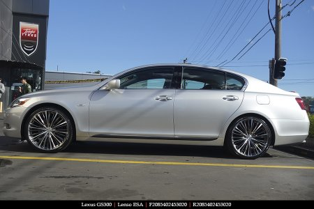 20X8.5 Lenso ESA on LEXUS GS300