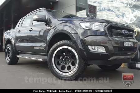 20x9.5 Lenso Max1 MBD on FORD RANGER WILDTRAK