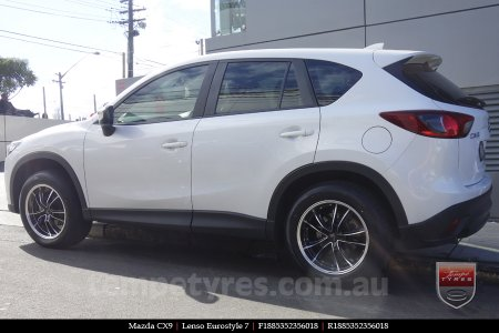 18x8.5 Lenso Eurostyle 7 ES7 on MAZDA CX9