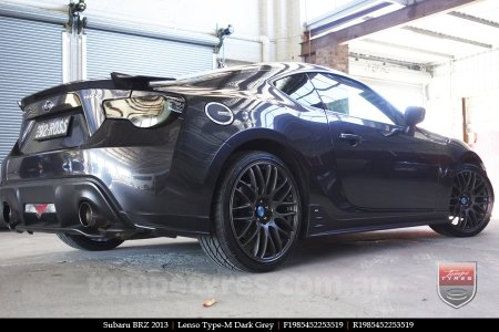 19x8.5 Lenso Type-M DG on SUBARU BRZ