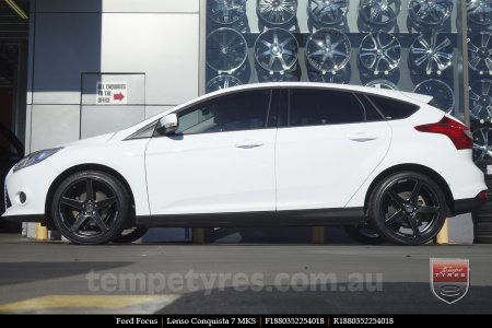 18x8.0 18x9.0 Lenso Conquista 7 MKS CQ7 on FORD FOCUS