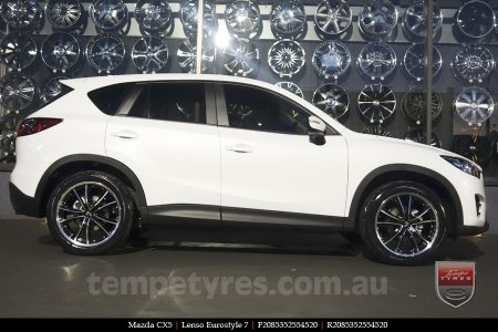 20x8.5 20x9.5 Lenso Eurostyle 7 ES7 on MAZDA CX5