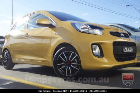 14x6.0 Menzari 0469 on KIA PICANTO