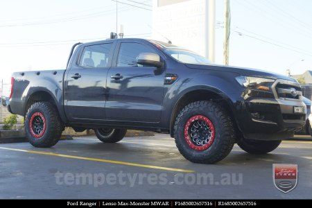 16x8.5 Lenso Max-Monster MWAR on FORD RANGER