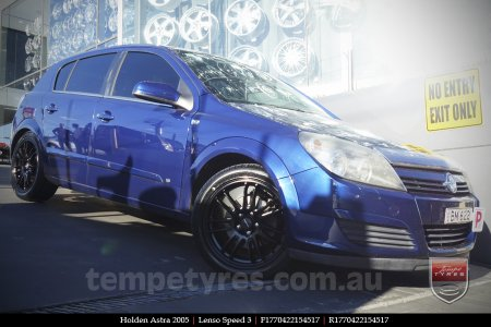 17x7.0 Lenso Speed 3 SP3 on HOLDEN ASTRA