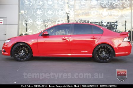 20x8.5 20x9.5 Lenso Conquista 5 SB CQ5 on FORD FALCON