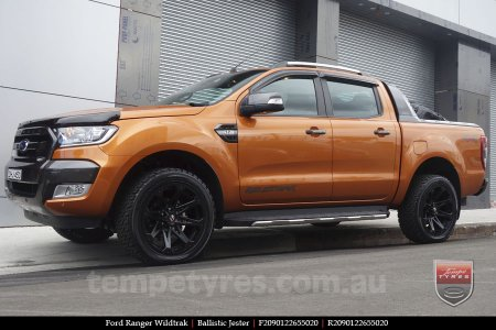 20x9.0 Ballistic Jester on FORD RANGER WILDTRAK