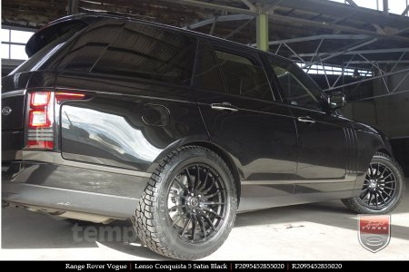 20x8.5 20x9.5 Lenso Conquista 5 SB CQ5 on RANGE ROVER VOGUE