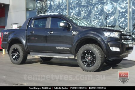 18x9.0 Ballistic Jester on FORD RANGER WILDTRAK