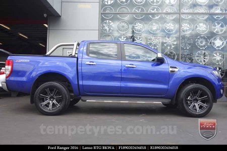 18x9.0 Lenso RTG BKWA on FORD RANGER