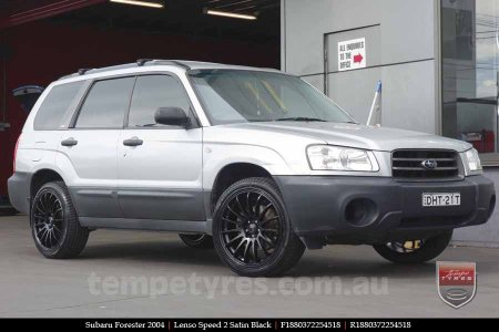 18x8.0 Lenso Speed 2 SP2 on SUBARU FORESTER