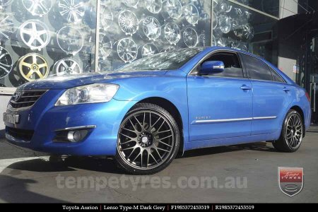 19x8.5 Lenso Type-M DG on TOYOTA AURION