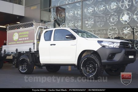 on TOYOTA HILUX