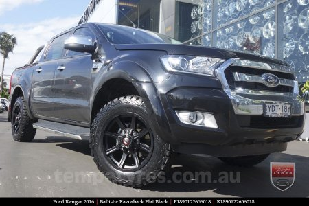 18x9.0 Ballistic Razorback on FORD RANGER