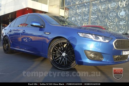 20x8.5 20x10 Sothis SC102 GB on FORD XR6