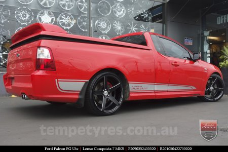 20x9.0 20x10.5 Lenso Conquista 7 MKS CQ7 on FORD FALCON