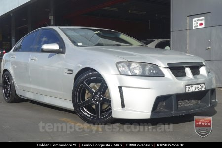 18x8.0 18x9.0 Lenso Conquista 7 MKS CQ7 on HOLDEN COMMODORE VE