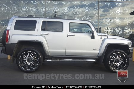 22x9.5 Incubus Hondo on HUMMER H3