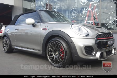 18x8.0 Lenso Type-M DG on MINI COOPER