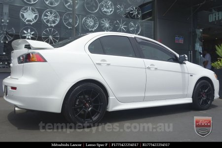 17x7.5 Lenso Spec F MB on MITSUBISHI LANCER