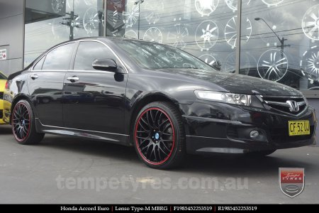 19x8.5 Lenso Type-M MBRG on HONDA ACCORD EURO