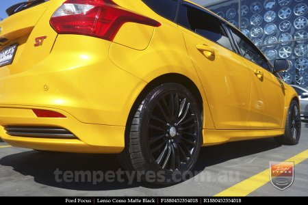 18x8.0 Lenso Como - MB on FORD FOCUS