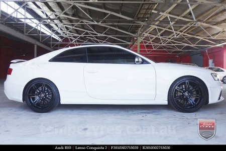 20x9.0 20x10 Lenso Conquista 2 SB CQ2 on AUDI RS5