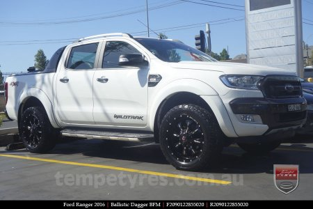 20x9.0 Ballistic Dagger BFM on FORD RANGER