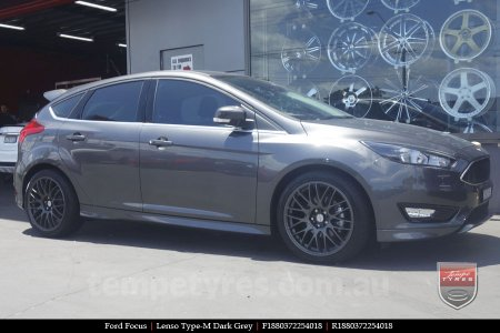 18x8.0 Lenso Type-M DG on FORD FOCUS
